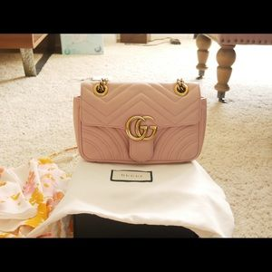 Gucci Mini GG Marmont Mini Matelasse leather bag